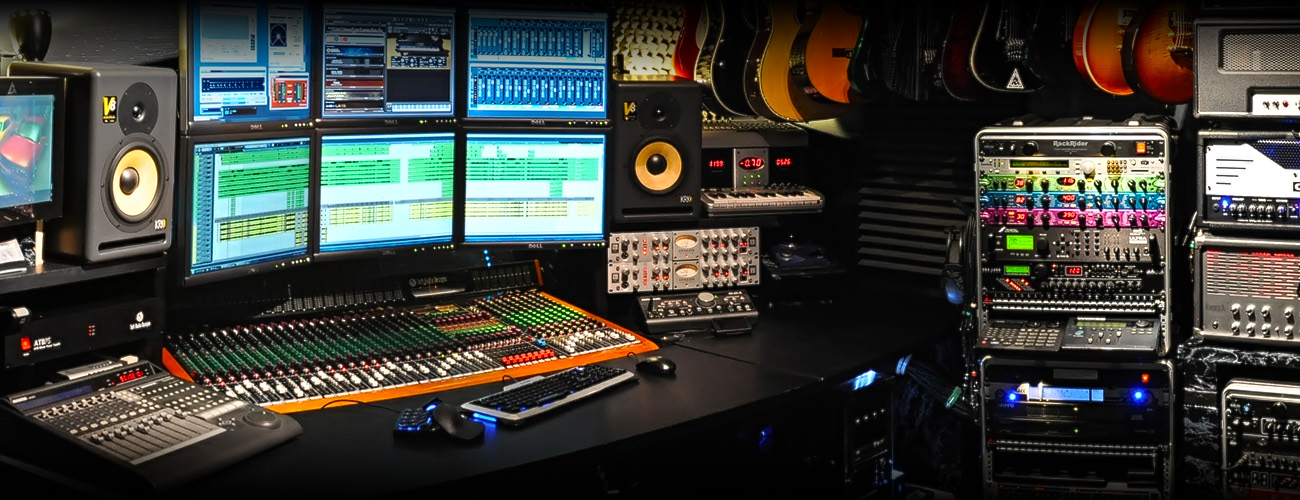 The Sound Lair Control Room